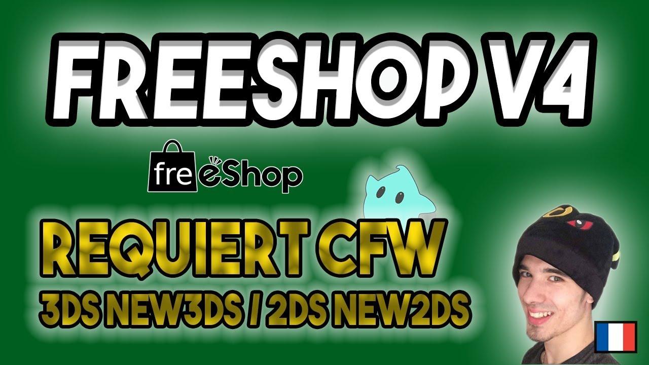 JEUX 3DS GRATUITS - FREESHOP V4 - TUTO 2018 COMPLET