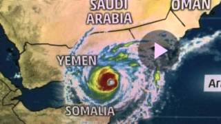 "Cyclone Chapala ""Extreme Damage Floods"" Middle East"
