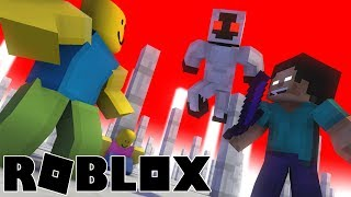 Monster School : VS ROBLOX part 3 - Minecraft Animation