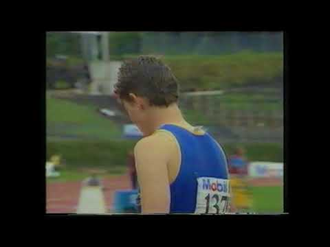 1990 Commonwealth Games Trials Womens 200m New Zealand