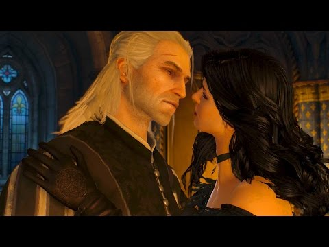 Yennefer Kisses Geralt: You Slept with Triss? Meh, Big Deal... (Witcher 3)