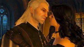 Yennefer Kisses Geralt: You Fucked Triss? Meh, Big Deal... (Witcher 3)