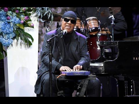 Stevie Wonder calls for better gun control during Nipsey Hussle's memorial service: 'It's unacceptab Mp3