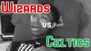WASHINGTON WIZARDS FAN CRIES!!! WIZARDS VS CELTICS GAME 7 2017 NBA FULL HIGHLIGHTS AND REACTION!