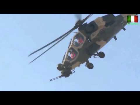 Italian Attack Helicopter Agusta A129 Mangusta