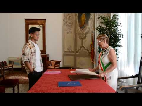 Kelsey A. Avecilla's Oath Taking - Italian Citizen  (31 August 2016)