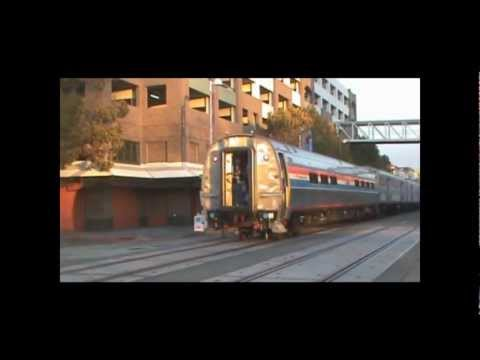 An Awesome Day at Jack London Square (11/12/11) - The 40th Anniversary Train, AMTK 184, and More!