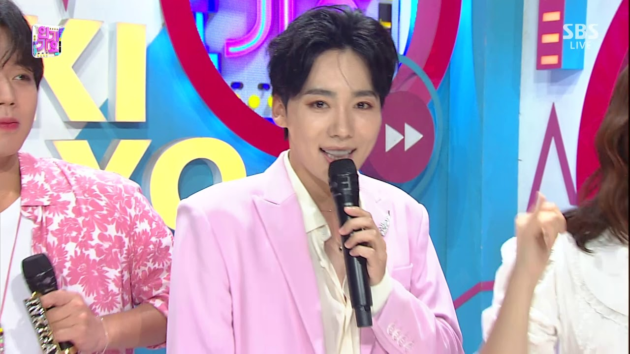 190818 JINU - Solo Debut Interview @Inkigayo