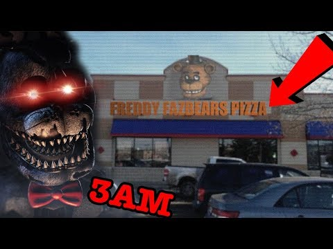 (EP2) DONT HIDE IN FREDDY FAZBEAR'S PIZZERIA AT 3AM (GONE WRONG) | ATTACKED BY BONNIE!