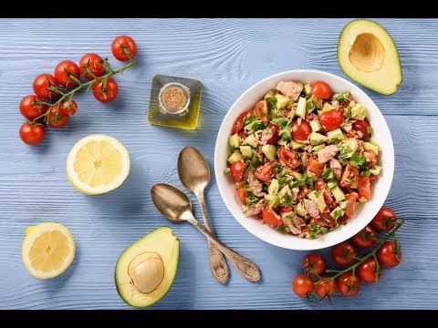 recette-:-salade-avocats-tomates