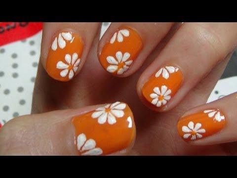 Nail Art For Beginners - Vẽ Móng Đẹp - Mẫu Vẽ Hoa Bằng Tăm Tre