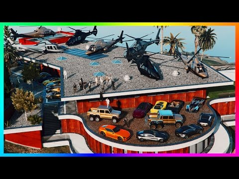 GTA ONLINE BILLIONAIRE'S SOCIETY - MOST EXPENSIVE GTA 5 VEHICLES, MANSION HOUSE TOURS, & MEGA YACHT!