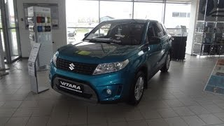 Обзор Suzuki Vitara GL 2016