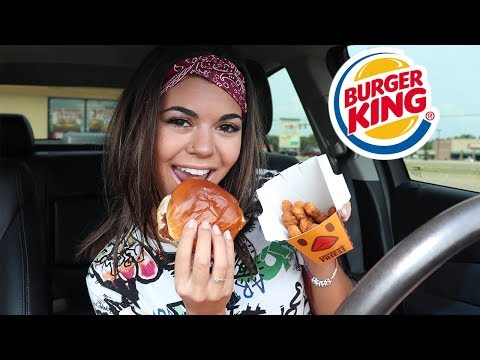 eat burger king with me!