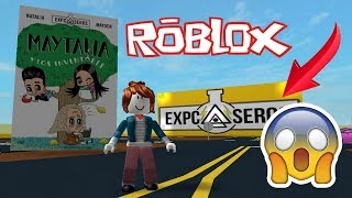 MY FIRST ROBLOX - MAYDEN OBBY AND NATALIA