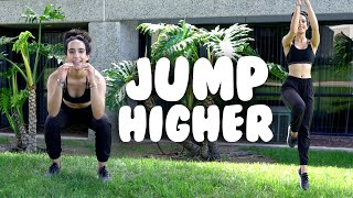 How To Jump Higher- Easy Exercises For Dancers with Miss Auti