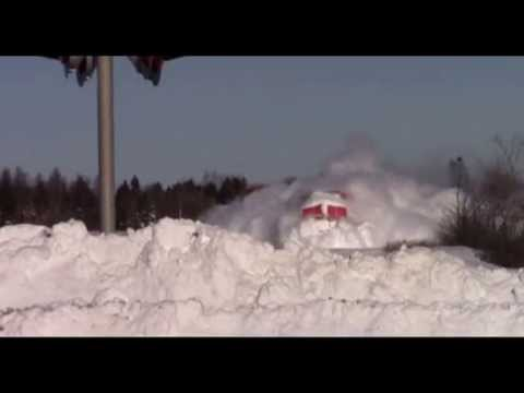 Train Dashing Thru The Snow