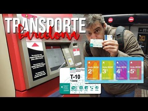 Abonos del transporte público en Barcelona (MibauldeblogsTV)