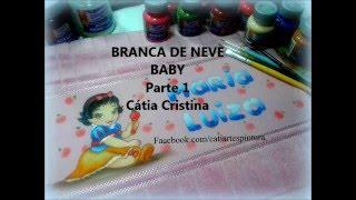 PARTE 1-BRANCA DE NEVE BABY por Cátia Cristina