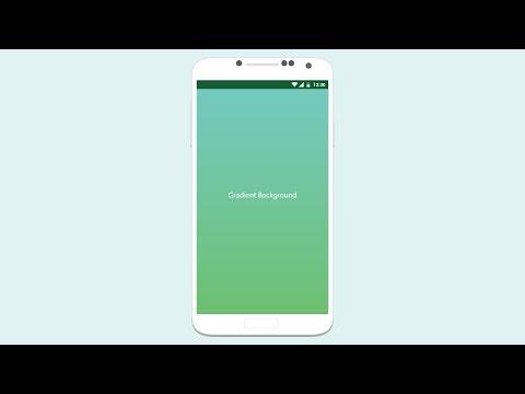 Create Gradient Background In Android Studio - Tutorial
