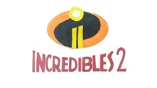 How to Draw the Incredibles 2 Logo