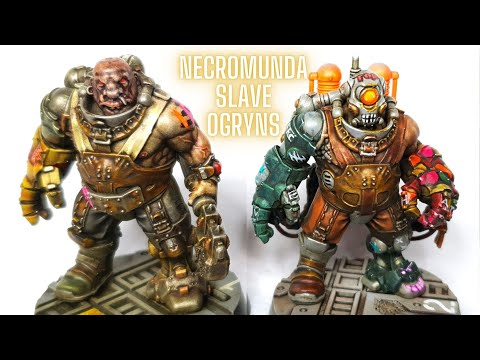 How to Paint Slave Ogryns - Speed Painting a Necromunda Gang