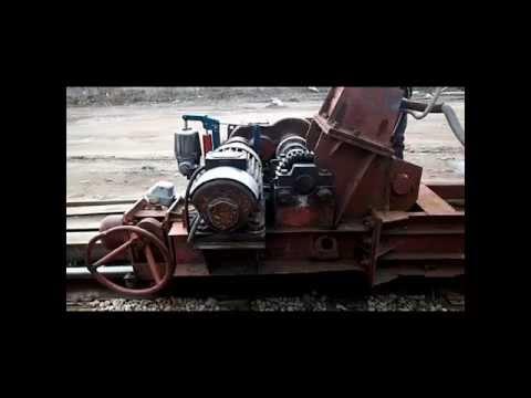 Ремонт приводов передвижения козлового крана ККС-10(Радиоуправление краном ч.-2)