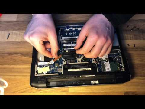 Repeat Disassembling Dell Latitude E6230 cleaning fan