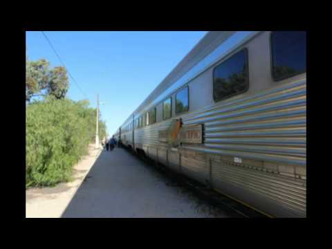 Sydney to Perth on the Indian Pacific, photos and Video