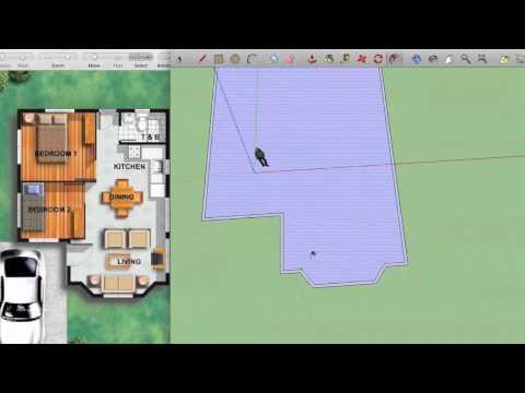 Google Sketchup Floor Plan Youtube