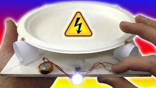 🌑 ЭЛЕКТРИЧЕСТВО ИЗ ЗВУКА И МИКРОКОЛЕБАНИЙ ПРЕОБРАЗОВАТЕЛЬ ХАЛЯВНОЙ ЭНЕРГИИ Electric Generator
