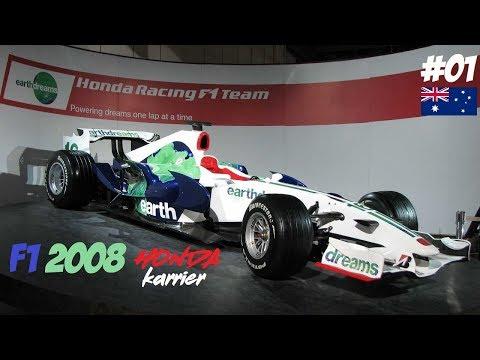 F1 2008 // R01: AUSTRALIA-MELBOURNE // HONDA TEAM KARRIER