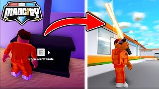 LASER SWORD... SO DO you! - MAD CITY (Roblox)