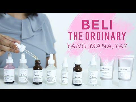The Ordinary: Produk Untuk Jerawat, Anti-Aging, Brightening | Skincare 101