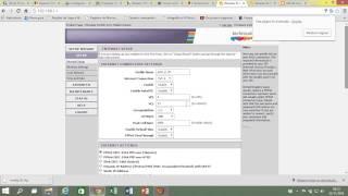 Configuração do modem TECHNICOLOR TD5130 Adsl2+ e atualizar a firm oi velox