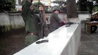 Video | tháo lắp súng tiểu liên AK | thao lap sung tieu lien AK
