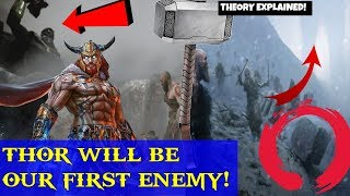 God of war 4- Thor after Kratos! Thor will be first ANTAGONIST! THEORY EXPLAINED! Kratos vs Thor