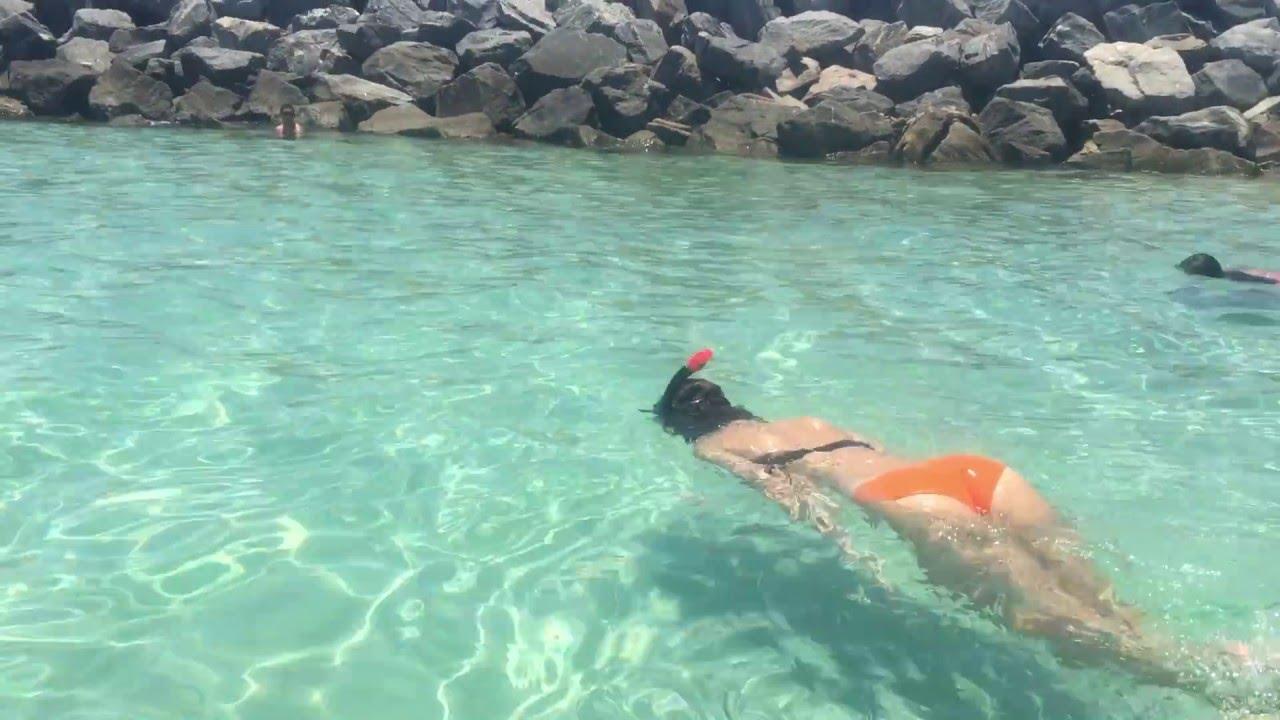 Miami Snorkeling South Pointe Beach