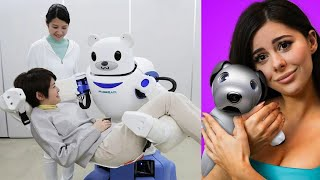 Robots you can actually have as PETS !