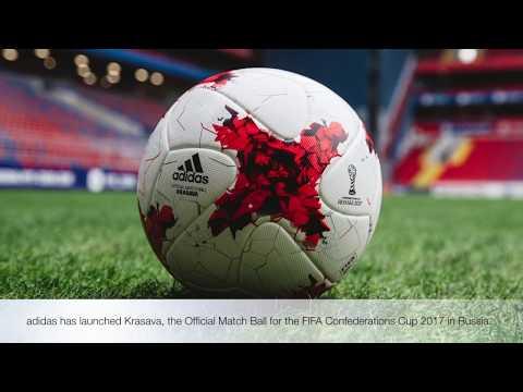 Adidias Krasava FIFA Confederations Cup Official Match Soccer Ball