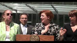Speaker Quinn on Domestic Partnership Ceremonies at the NYC Clerk