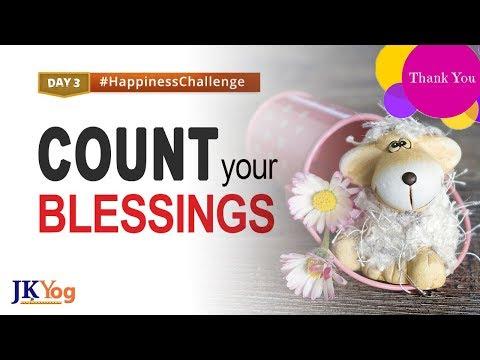 Start Feeling Happy Now   Happiness Challenge Day 3   Swami Mukundananda   JKYog
