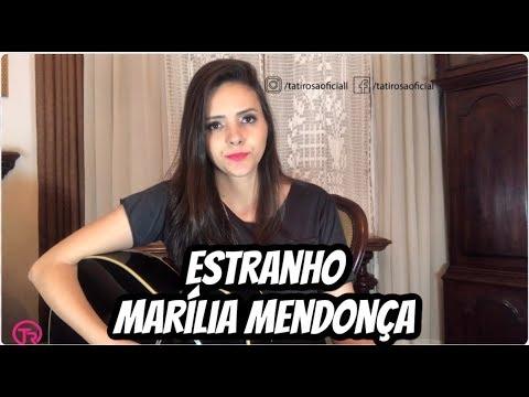 Marília Mendonça - Estranho (Cover Tati Rosa) thumbnail
