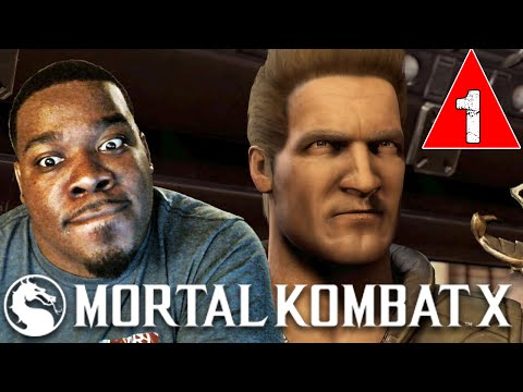 Mortal Kombat X Gameplay Walkthrough Part 1 Intro Story Mission Johnny Cage  - Lets play MKX