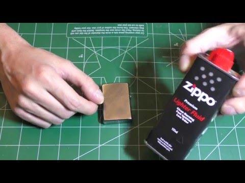 Как заправить зажигалку Zippo правильно