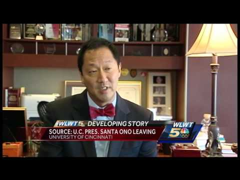 University of Cincinnati President Santa Ono leaving post