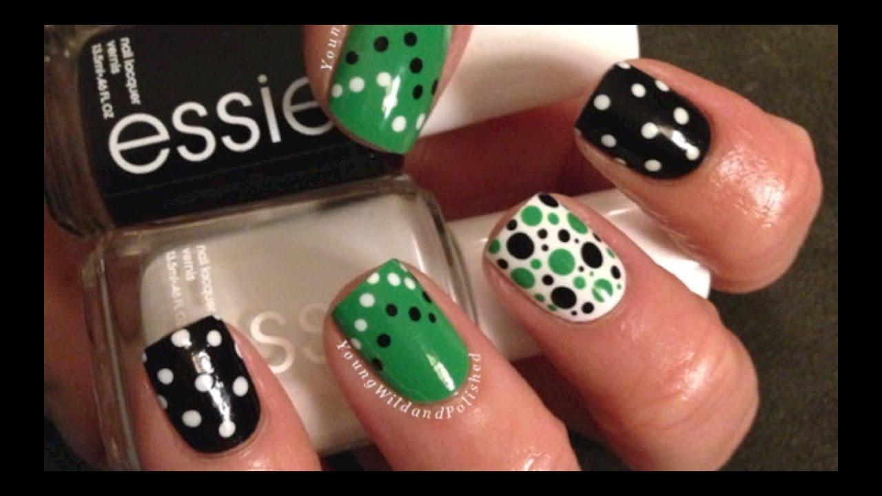 Dotting Tutorial--Nail Art Made Easy!! - YouTube