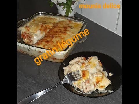 وجبة-صيفية-خفيفة-و-سريعة-غراتان-الخضر-gratin-au-légumes-un-plat-d'été-facile-rapide