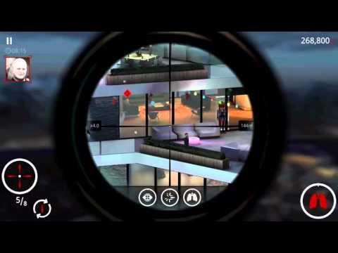 Hitman: Sniper Shoot the Fuse Box Twice, 500,000 Score on
