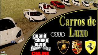 Carros de LUXO - GTA (Download) HD